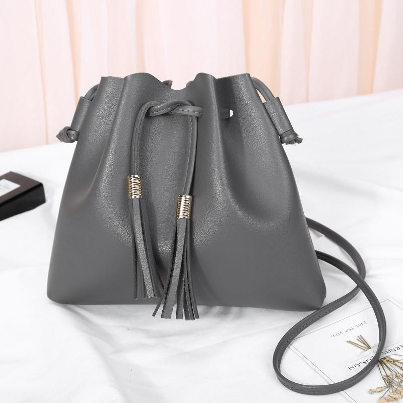 Giantex Серый женщины pu кожа сумочкакожаные сумки messenge