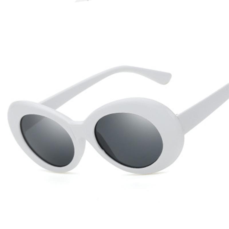 Sisjuly Белый серый продолговатый очки солнцезащитные persol persol pe007duatbc3