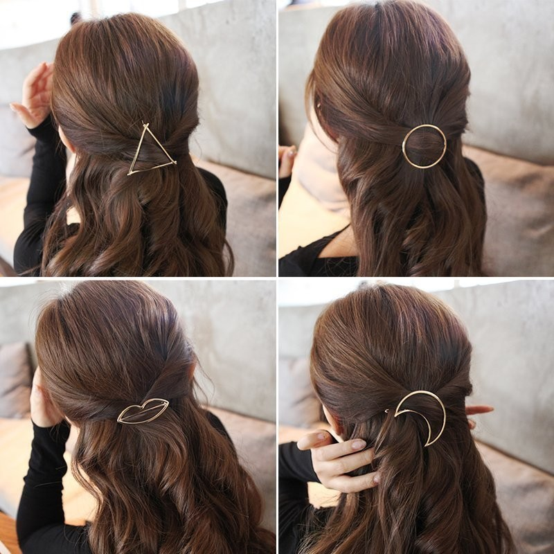 CXSHOWE 4 шт lysumduoe girl bb hair clips cute candy color hairgrip random barrette flower mix barrettes hairpin kids girls hair accessories