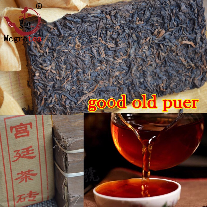 mcgretea yunnan pu er tea raw puer tea 100g puerh tuo cha pu erh old tree pu er tea green food china resistant brewing bright color sweet