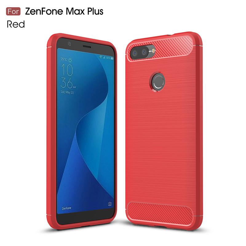 goowiiz красный ASUS zenfone Max Plus M1 ZB570TL чехол крышка skinbox slim silicone t s azzb570tl 005 для asus zenfone max plus m1 zb570tl прозрачный