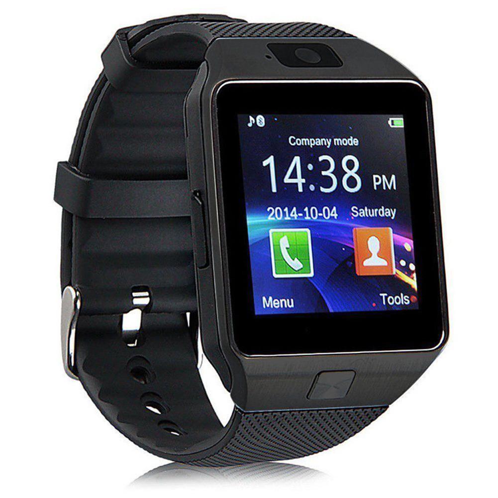 CANIS черный dz09 bluetooth 3 0 smart watch phone mtk6260a