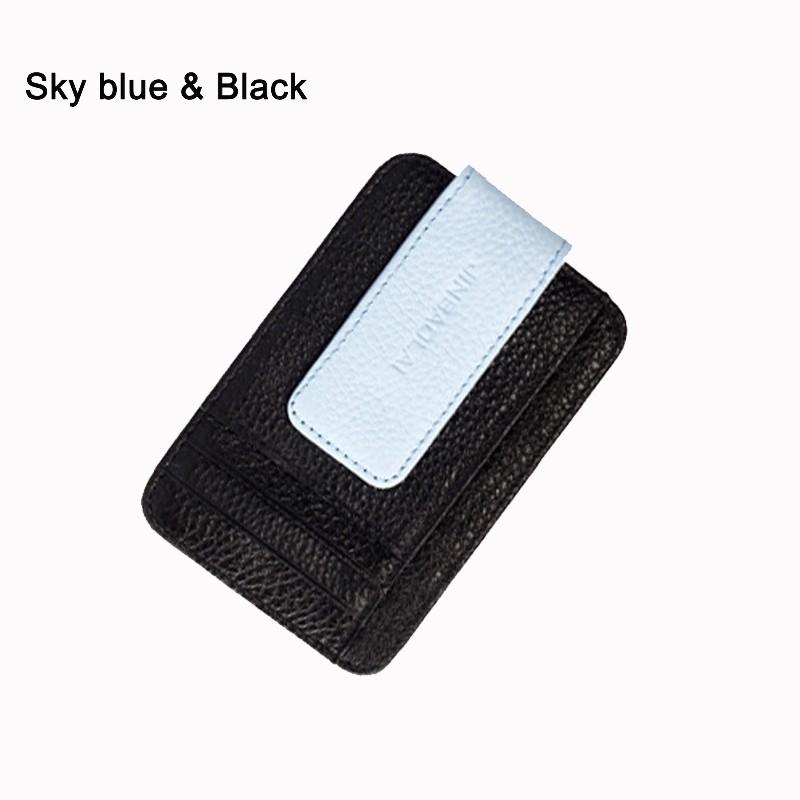 Держатель карты JINBAOLAI Sky Blue & Black Длина 12cm, ширина 78cm, высота 08cm фото