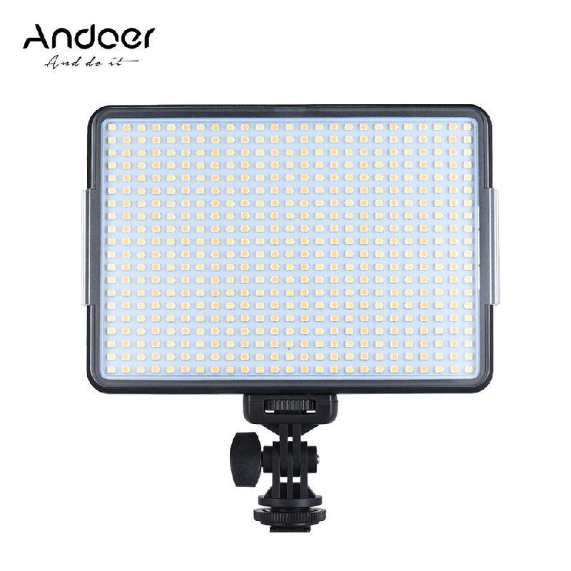 ANDOER Темно-серый nanguan cn 8f 560lm 5600k zooming focusing dimmable led fresnel light for studio video film lighting