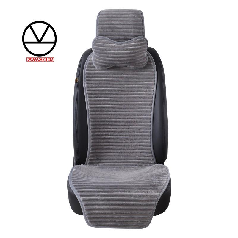 COVERS Серый искусственный плюшевый автокресло new car styling 100