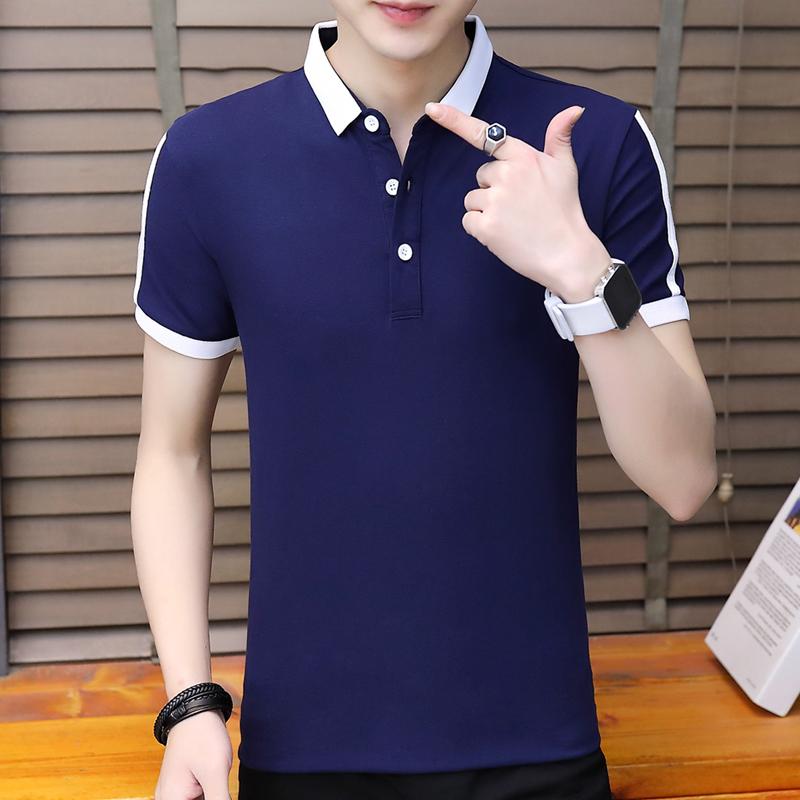 DaMaiZhang Blue L мужская футболка поло team polo pocket цвет белый размер 50