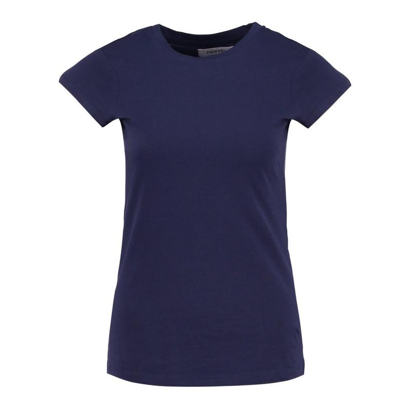 Tissbely SA 7715 Blue S agb women s layered look top 2x black