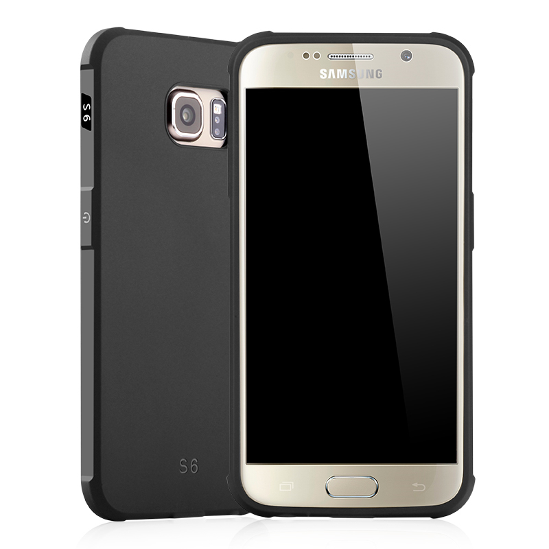 goowiiz черный Samsung Galaxy S6 край ultra slim clear phone cases for samsung galaxy s6