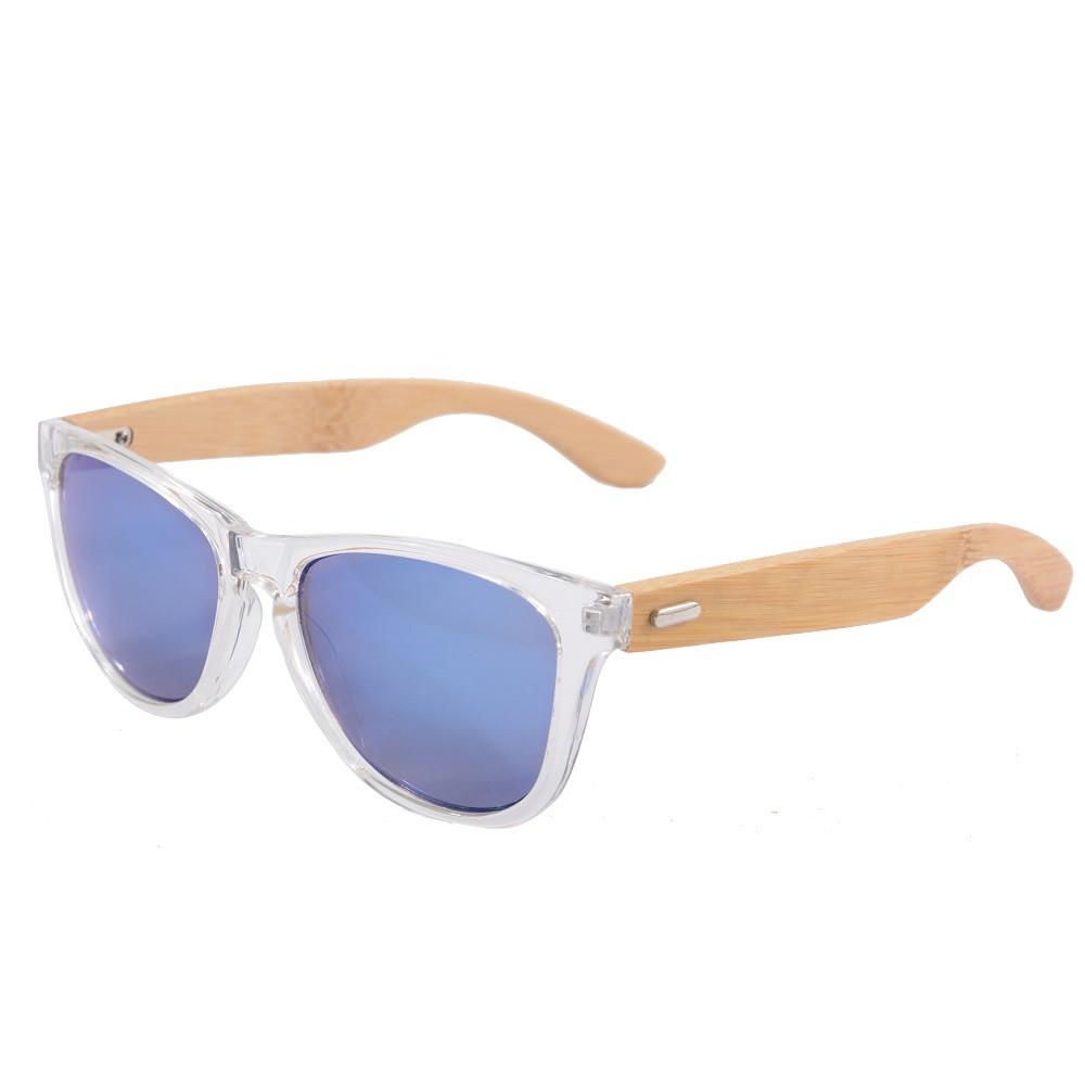 SHINU прозрачные оправы из бамбука ледяные линзы swarovski солнцезащитные очки sk 0055 52f
