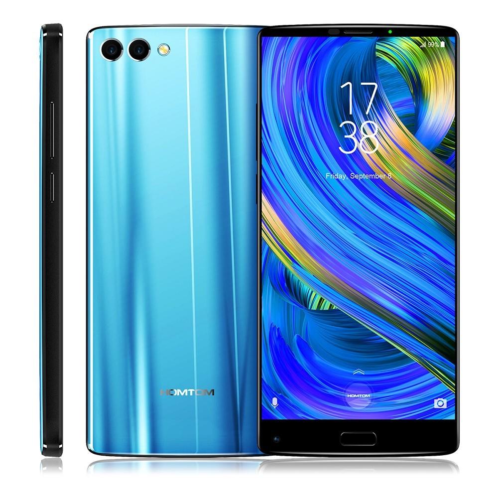 HOMTOM Синий цвет Евровилка zte axon 7 mini 4g smartphone