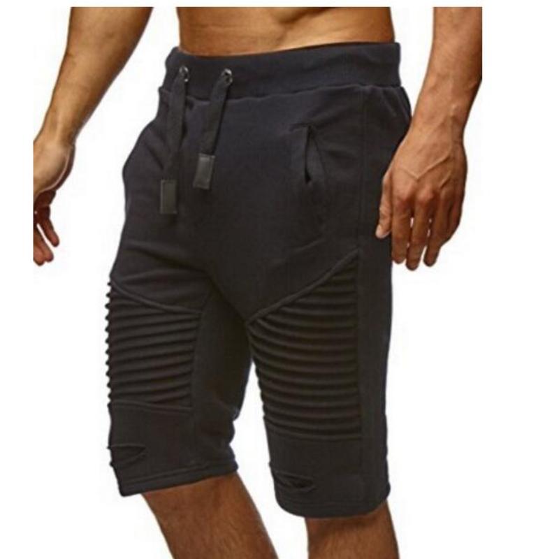 Мужская мода шорты летом шорты shortpants sportshort пляж шорты Xuanxuan diary Чёрный цвет Номер М фото