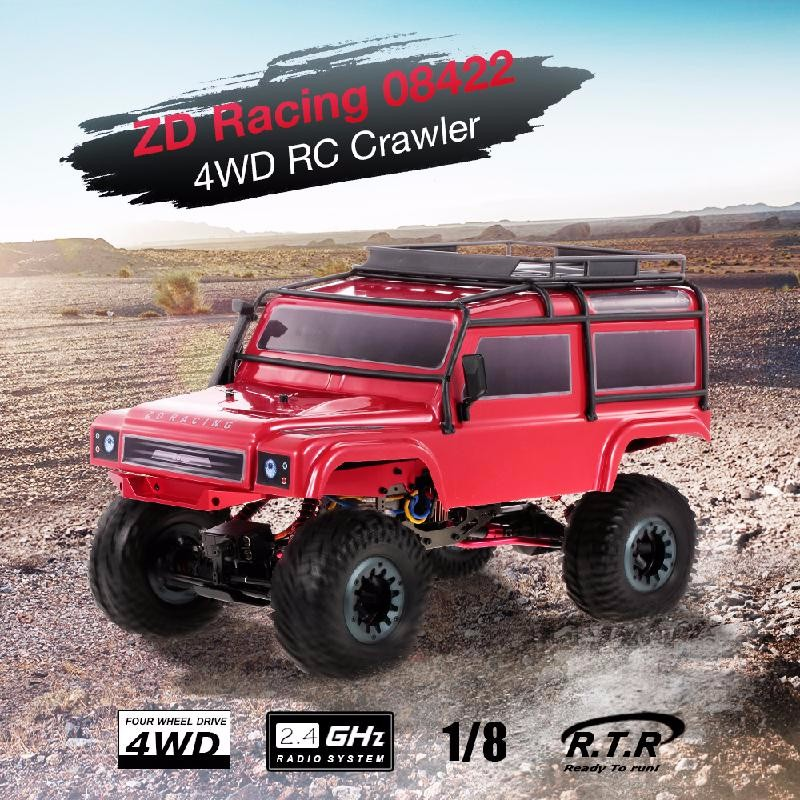 GoolRC Red neewer® aluminum shock absorber 2 piece for rc 1 10 bigfoot car truck fits hsp redcat racing himoto exceed