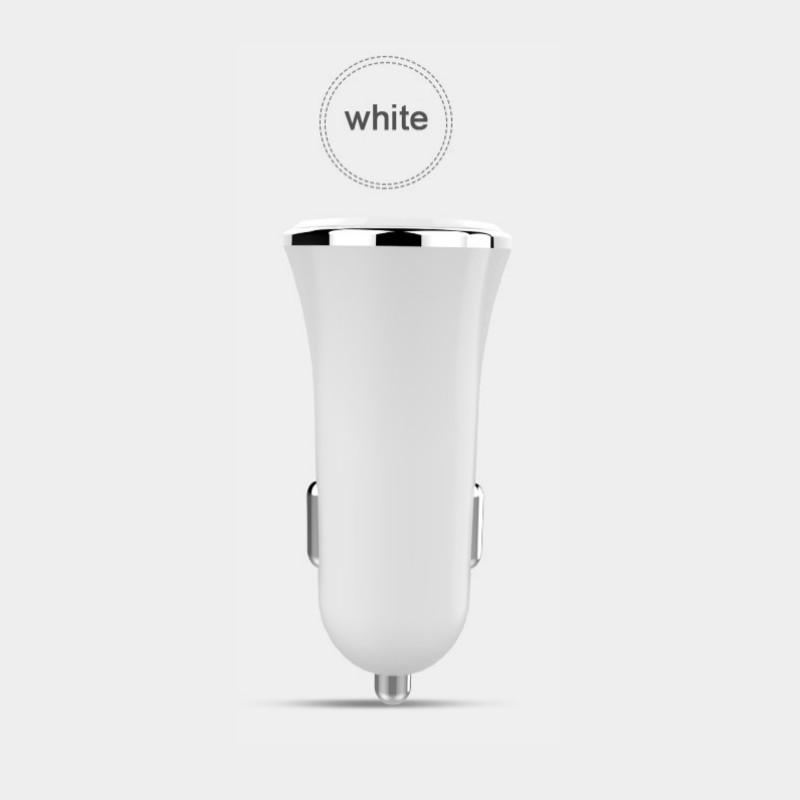 Адаптер зарядка быстрая зарядка usb зарядное устройство автомобильная зарядка Белый цвет 1124A фото