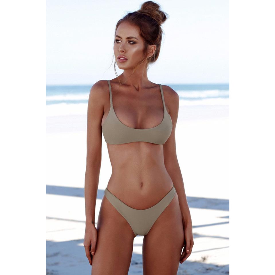 M&M Серый M brazilian tanga bikini 2016 swimwear women big bow thong bikini bottom sexy brazilian biquini bralette trajes de bano women