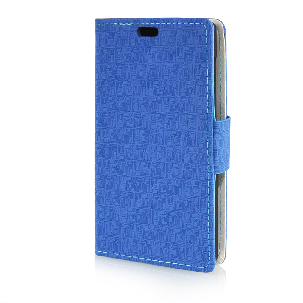 MOONCASE mooncase moto g 2nd gen leather wallet flip card holder pouch stand back чехол для motorola moto g 2nd gen blue