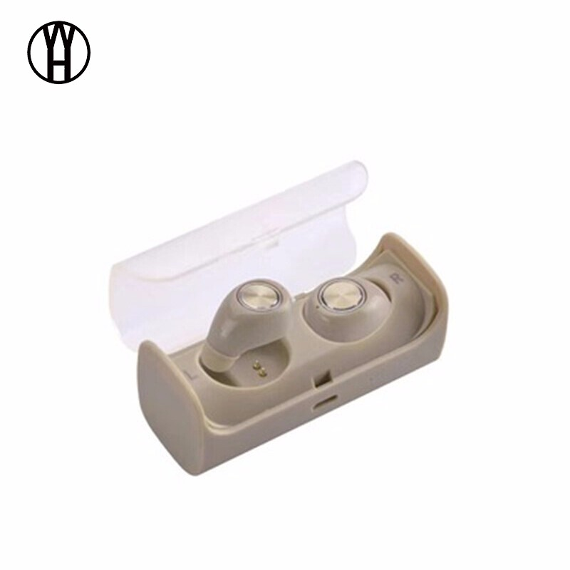 WH желтый цвет кожи браги даш двойной беспроводной bluetooth гарнитуры спортивные наушники монитор сердечного ритма смарт встроенный 4g памяти ear black