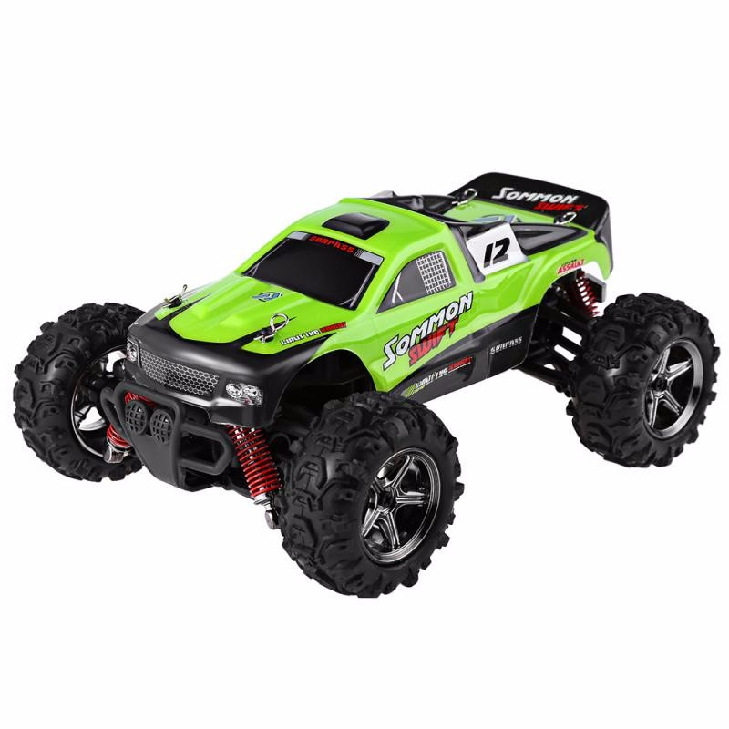 GBTIGER Зеленый 1 12 4wd rc cars updated version 2 4g radio control rc cars toys buggy 2017 high speed trucks off road trucks toys for children