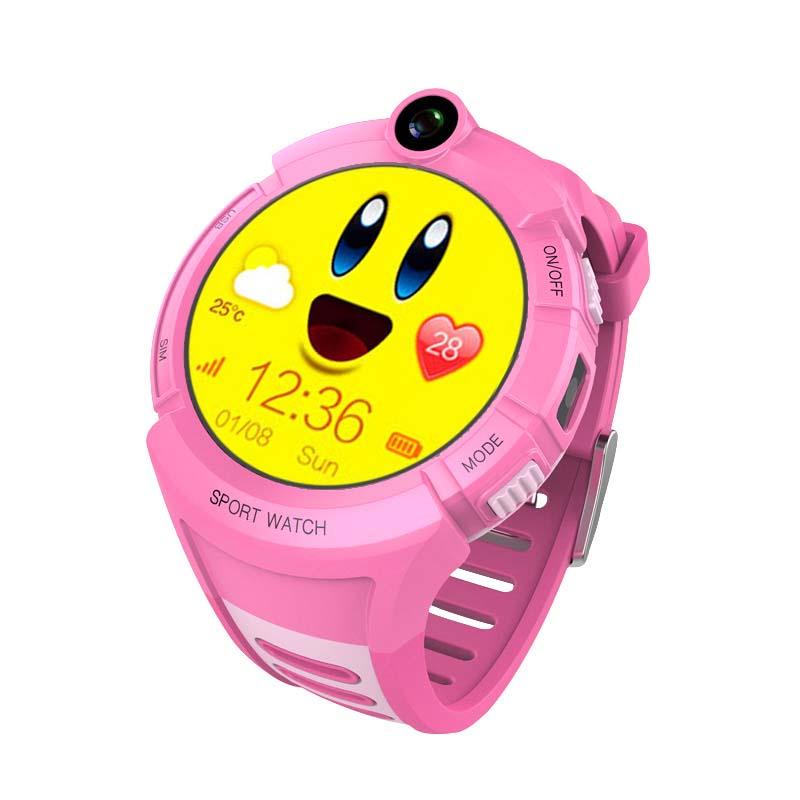 CHIGU Розовая английская версия 38мм upgraded smart kid safe gps watch phone wristwatch sos call finder locator tracker for kid child anti lost monitor baby gift