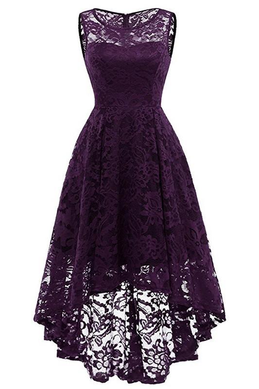 Платье для выпускного вечера малыш платье Пурпурный M фото