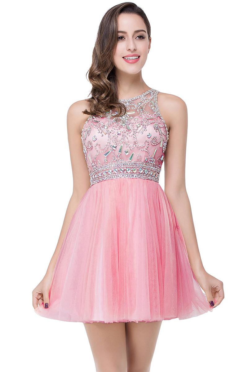 babyonlinedress розовый США 4 Великобритания 8 ЕС 34 ohne titel короткое платье