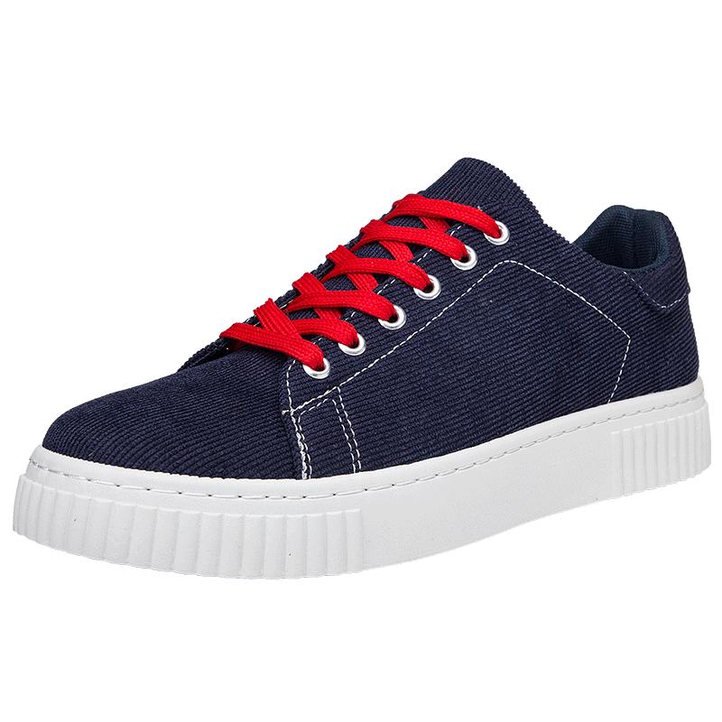 Мужская обувь 2018 новая повседневная обувь мода XC908 черный темно-серый темно-синий 41 SHENGSUWANG Темно-синий 41 фото