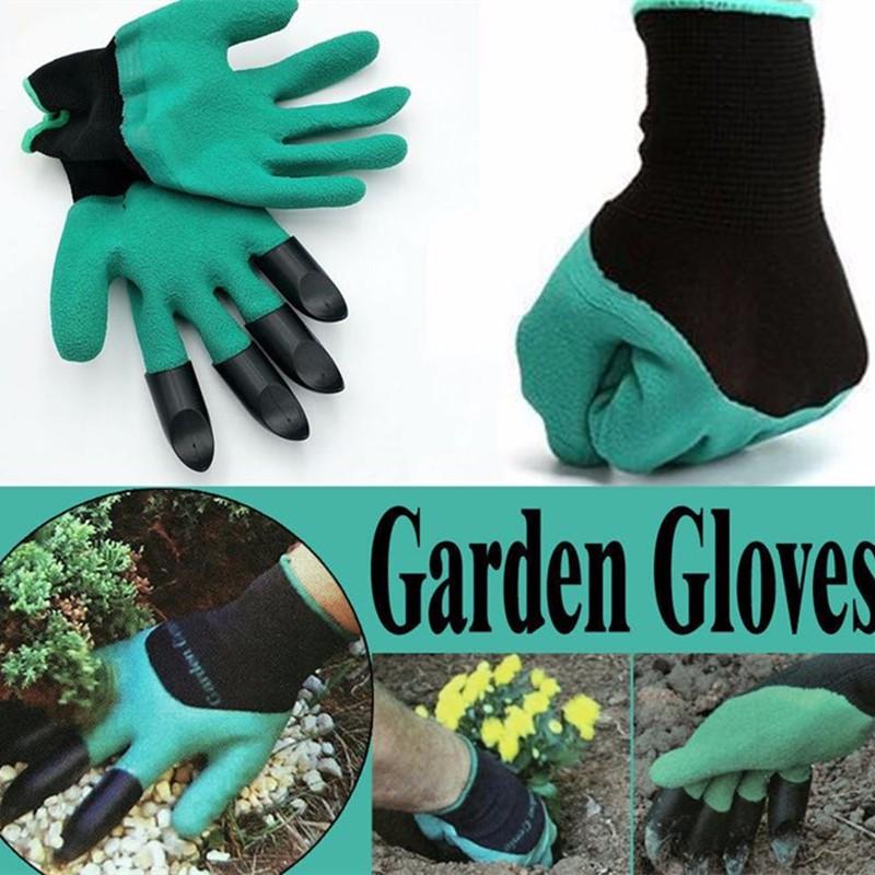 Садовые перчатки с когтями продажа перчатки пластиковые перчатки пластиковые Halojaju фото
