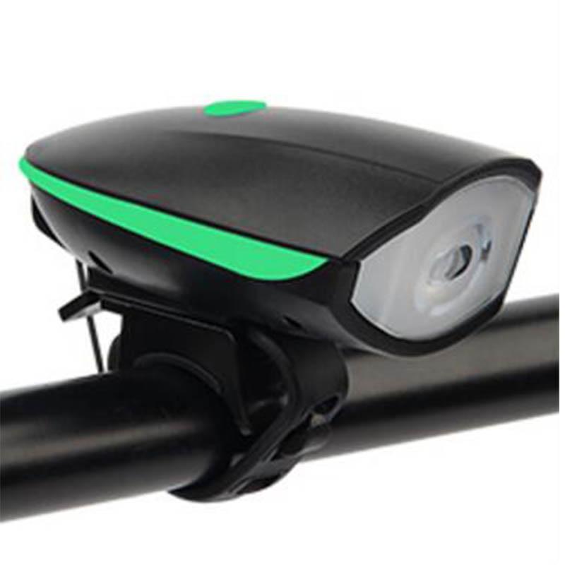Велосипед фары велосипед колокол велосипед свет велосипед электронный колокол FTW Green фото