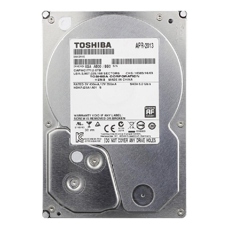 TOSHIBA 2T hdd диск