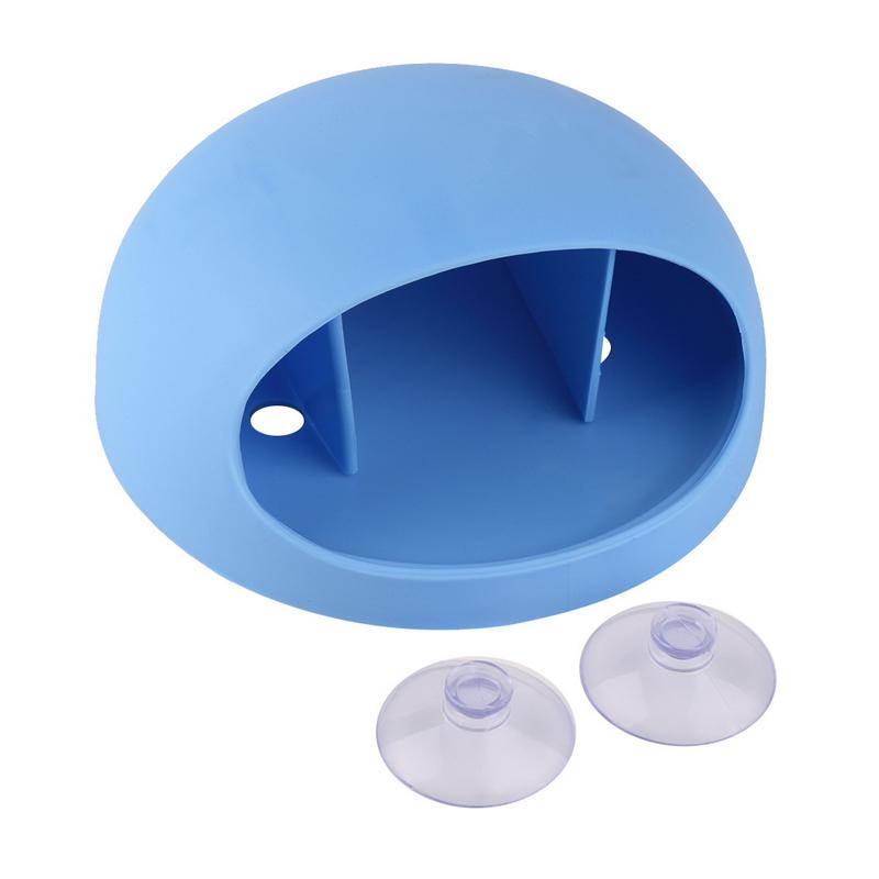 Аксессуары для ванной комнаты Держатель для зубных щеток Настенные присоски Держ kangfeng Синий фото