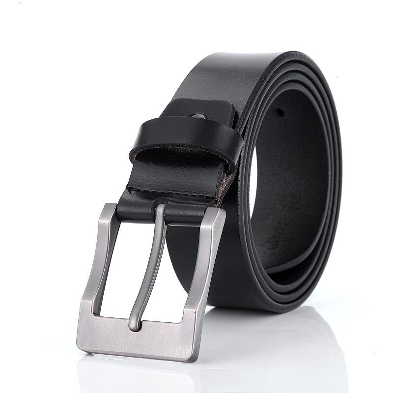 MYDYICAT Черный цвет 120см черный кожаный ремень
