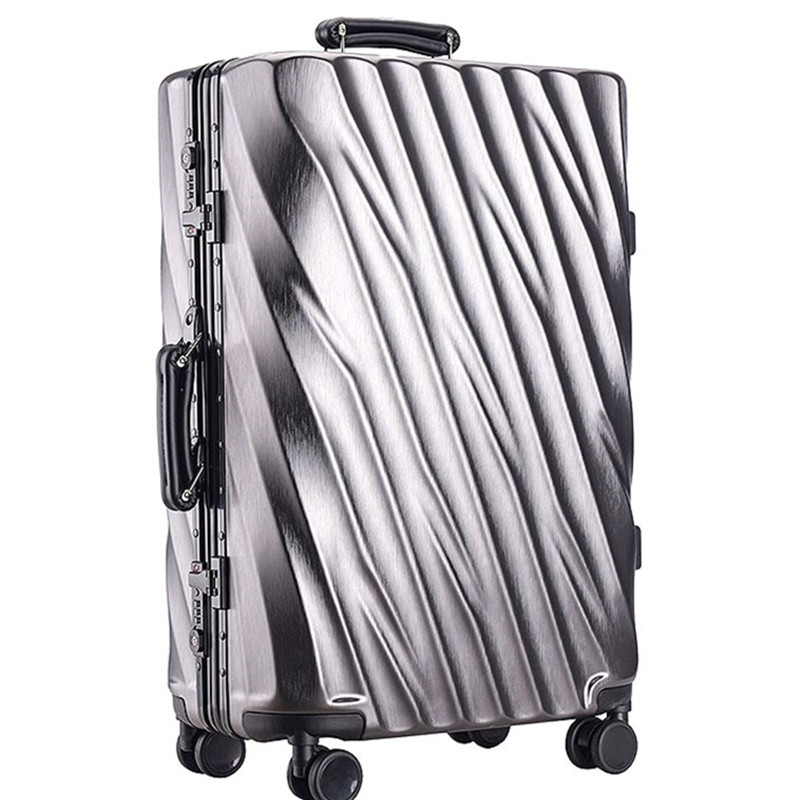 Earth tell серебро 24 дюйма pc чемодан для путешествий мультфильм рисунок