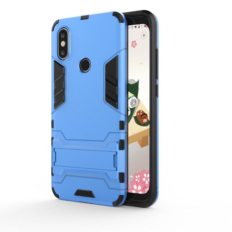 WIERSS синий для Xiaomi Mi A2 Ударопрочный жесткий чехол для телефона