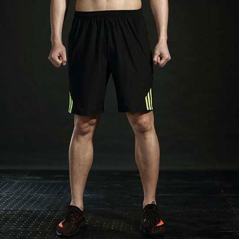 DINGBING Флуоресцентные зеленые черные брюки зеленые полосы XXXL