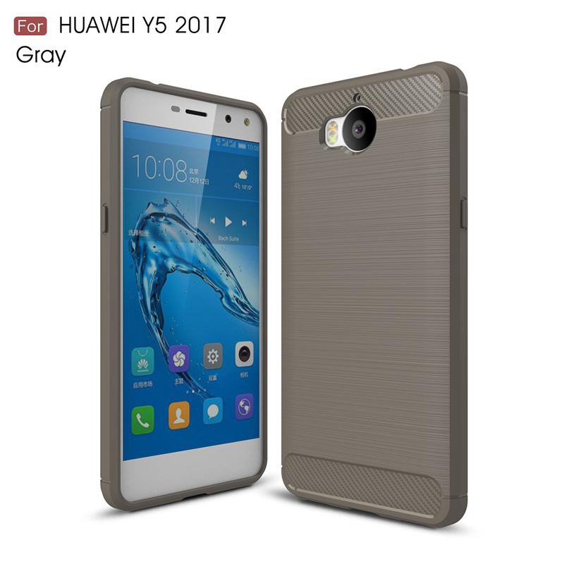 goowiiz Серый HUAWEI Y5 2017 Y6 2017 Nova Young смартфоны huawei y5 2017 grey