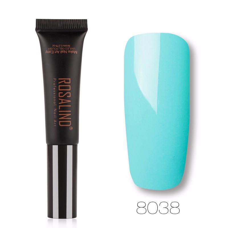 ROSALIND Темно-синий гель лак для ногтей pupa lasting color gel 019 цвет 019 sumptuous mane variant hex name c93a56