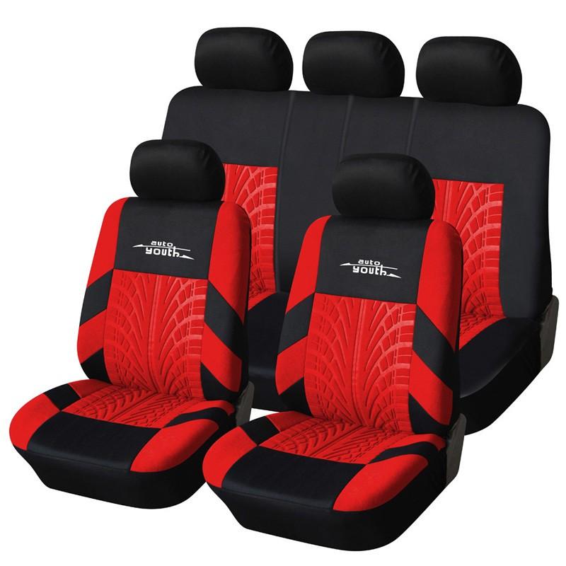 COVERS Красная крышка сиденья автомобиля 02 универсальный магнитный газ топлива экономия энергии для автомобилей автомобиля сокращения выбросов