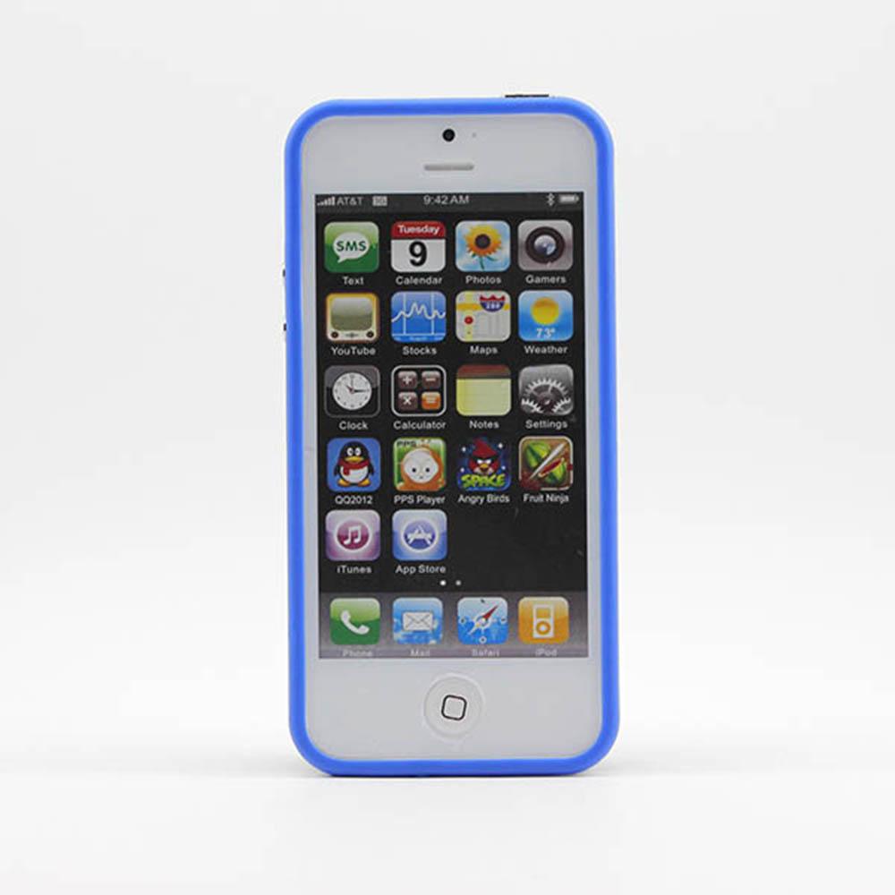 Vanker Синий цвет iPhone 55S mooncase iphone 5 5s дело гибкая мягкий гель тпу силиконовая кожа тонкий прочный чехол для apple iphone 5 5g 5s серый