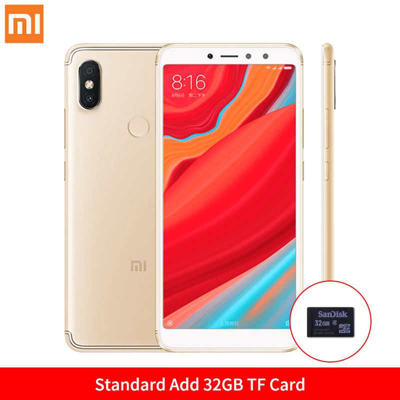 Mi Стандартное золото Добавить карту 32GB TF global version xiaomi redmi 4x 3gb 32gb smartphone black