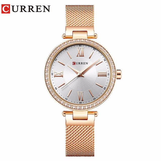 CURREN 04 guanqin gq17001 watches women luxury lady quartz watch ladies fashion casual clock ceramic bracelet wristwatch relogio feminino