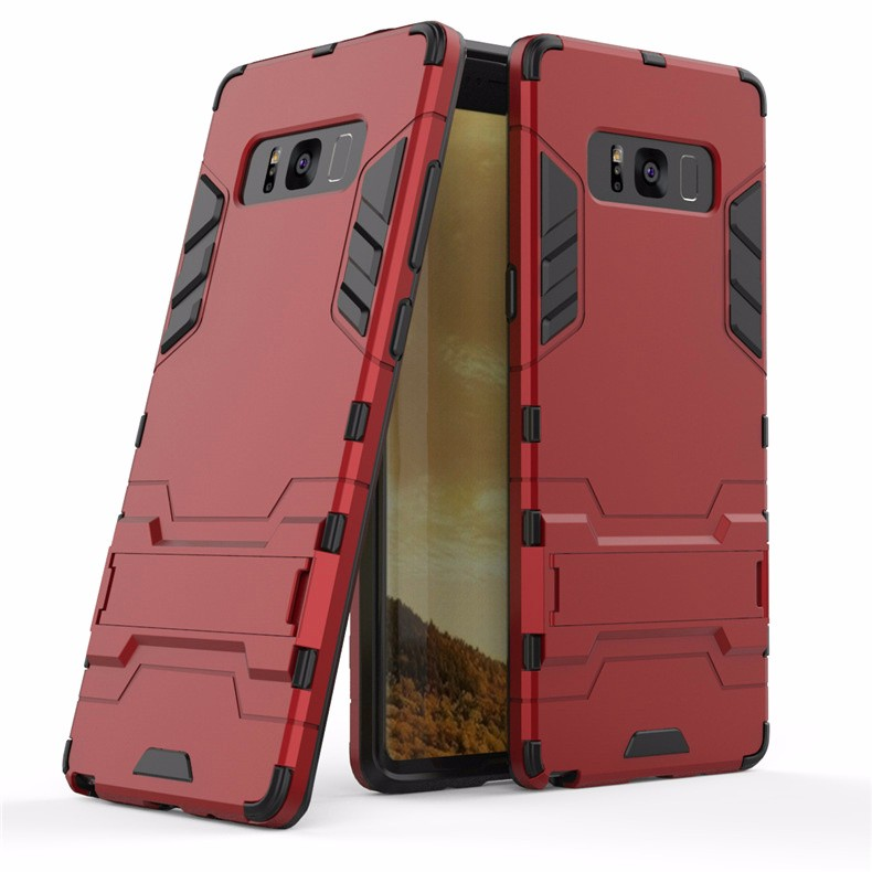 WIERSS красный для Samsung Galaxy Note8 Shockproof Hard Phone Case для Samsung Galaxy Note8 Примечание 8 SM-N950 N9508 N9500