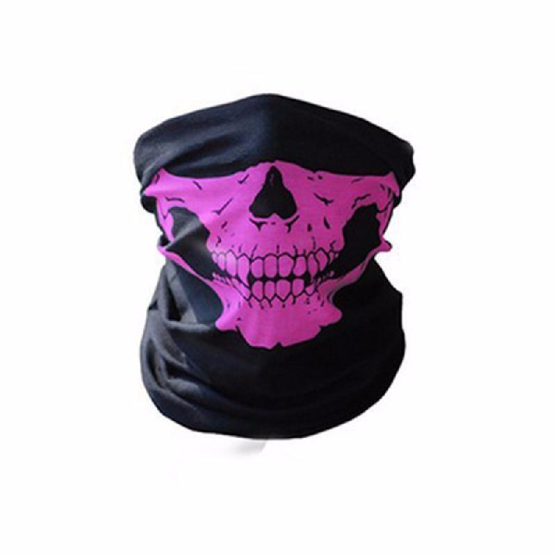 meterk Розовый защитная маска маска бандана 2017 лето череп оголовье магия бесшовные бандана