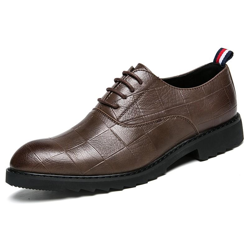 VenierLL Коричневый цвет 75 pu leather short martin boots for men