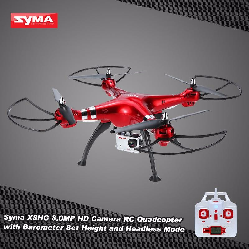 GoolRC Red syma x8w wifi fpv rc quadcopter professional 2 4g 6 axis syma x8c rc drone with 2mp camera hd rc helicopter with vs syma x8hg