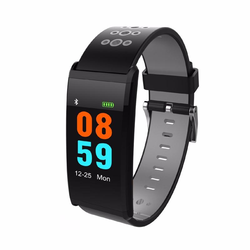 HRAEFN Серый z8 кровяное давление watch blood oxygen heart rate monitor smart bracelet fitness tracker wristband watch