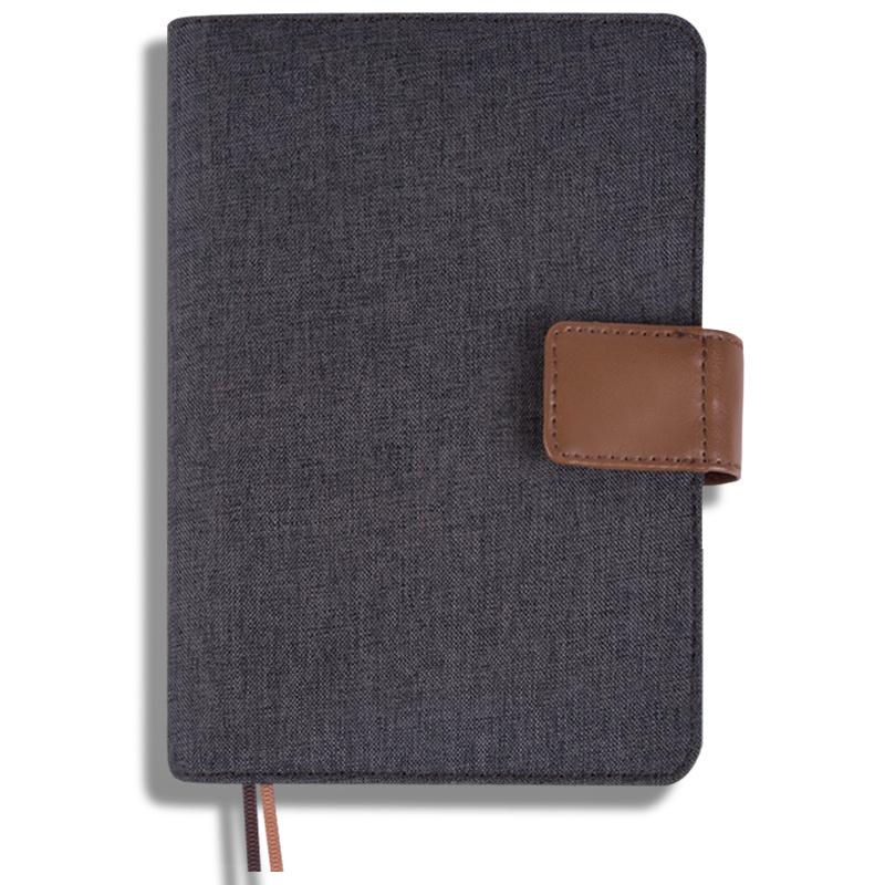 JD Коллекция Белье Серый A5 a5 stationery pu leather loose leaf spiral notebook business 6 hole high grade creative retro diary notebook