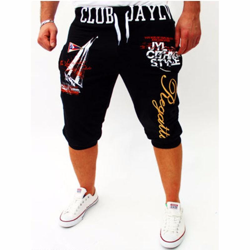 Летние шорты короткие штаны случайных штаны плюс размер мужчины шорты mensshorts Xuanxuan diary Чёрный цвет Номер L фото