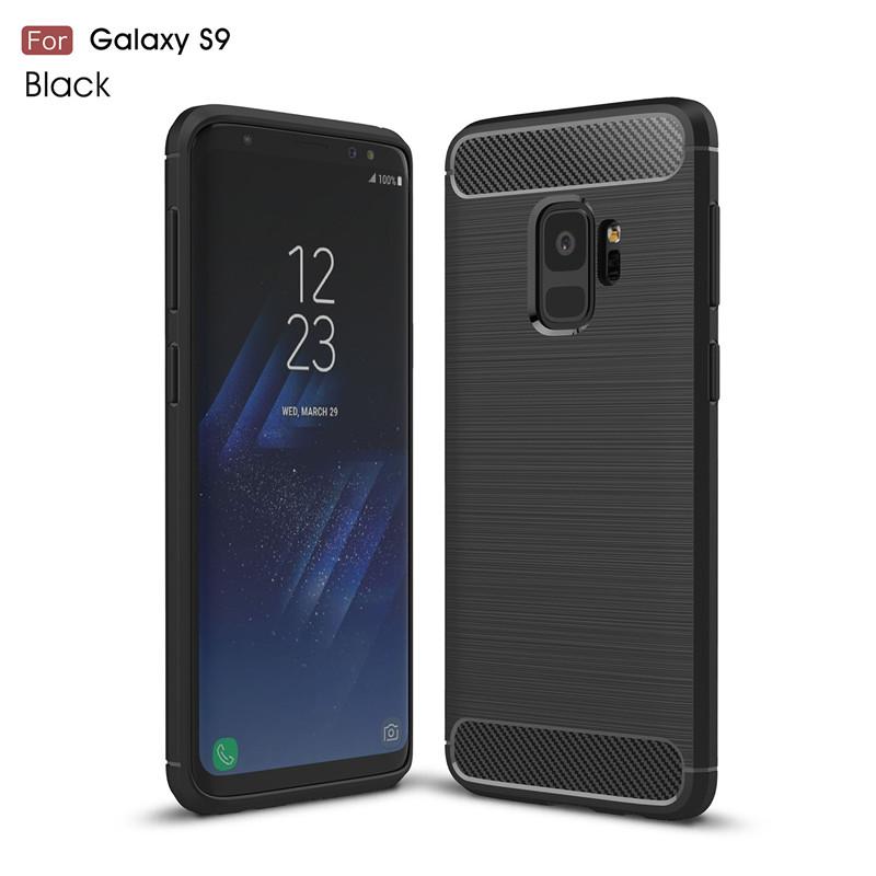KYKEO Черный Samsung Galaxy S9 ultra slim clear phone cases for samsung galaxy s6