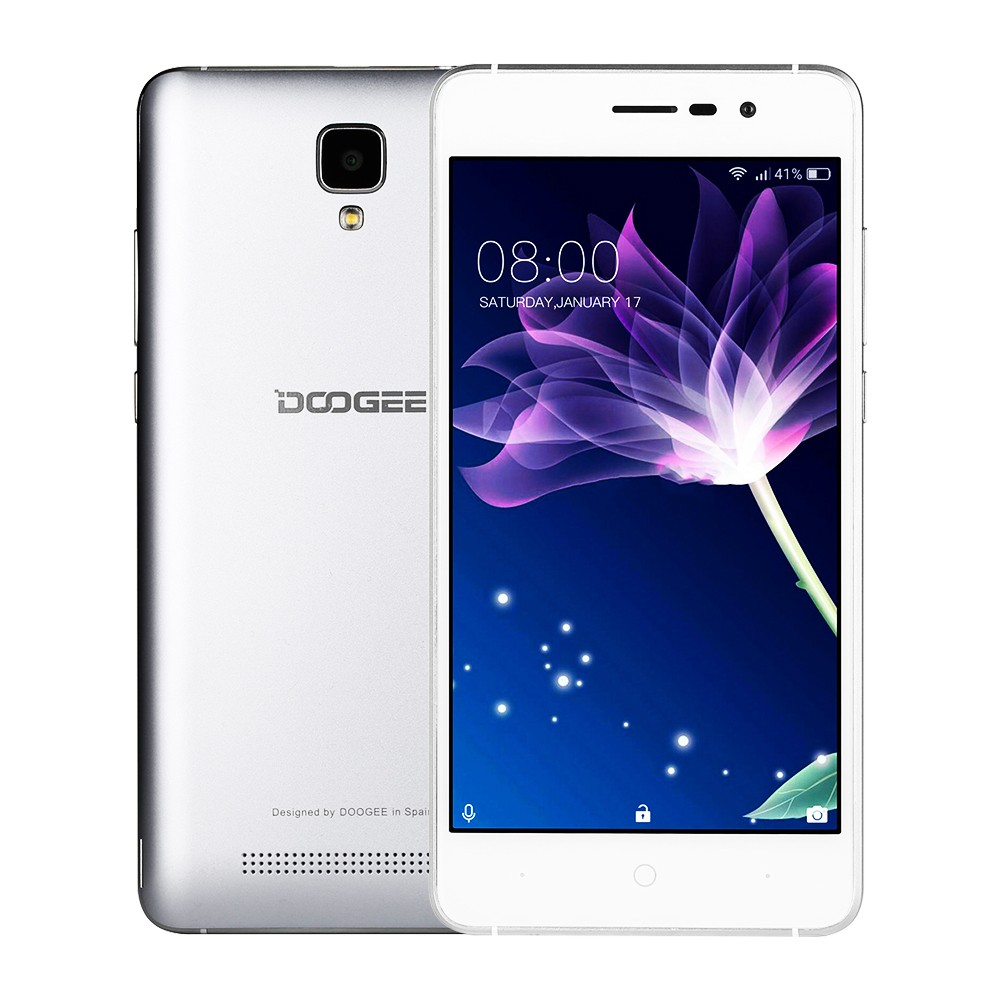 DOOGEE Серебряный water proof quad core android 4 2 phone w 4 5 dual sim walkie talkie 4gb rom black