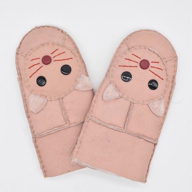 MSMinShu розовый Один размер перчатки herman перчатки