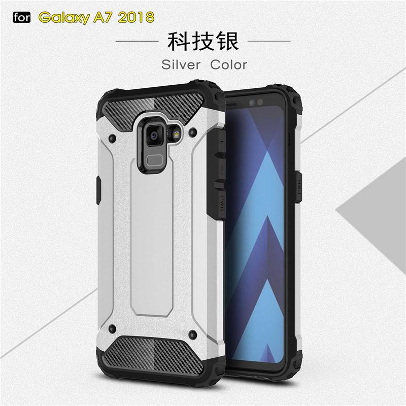 goowiiz Серебряный Samsung Galaxy A8 Plus 2017 A7 2018 blackview a8 смартфон